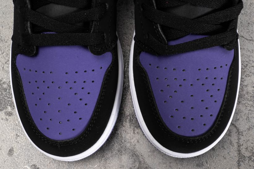 Air Jordan 1 Low GS Court Purple 5