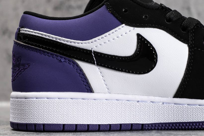 Air Jordan 1 Low GS Court Purple 6