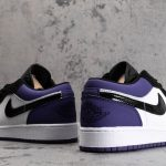 Air Jordan 1 Low GS Court Purple 7