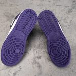 Air Jordan 1 Low GS Court Purple 8