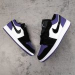 Air Jordan 1 Low GS Court Purple 9