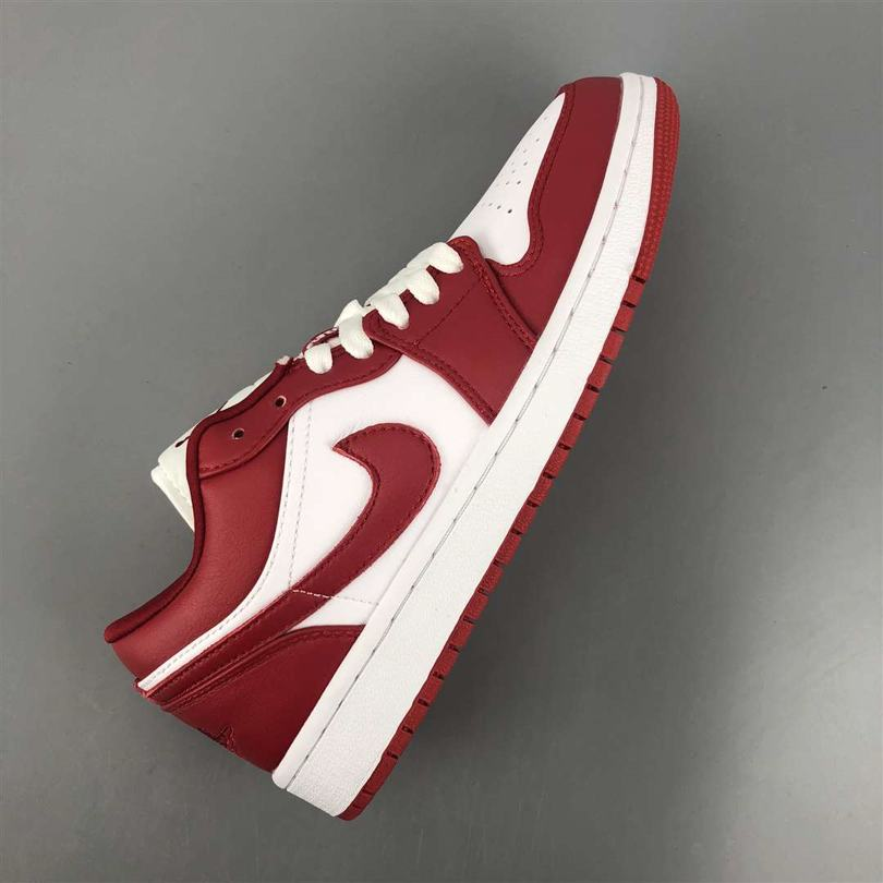 Air Jordan 1 Low GS Gym Red 1