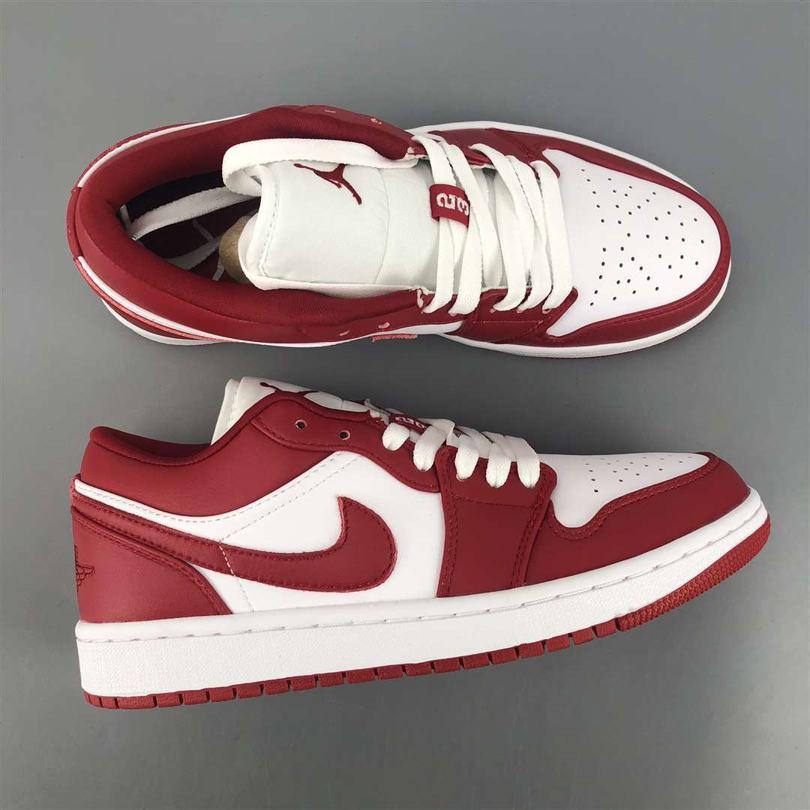 Air Jordan 1 Low GS Gym Red 3