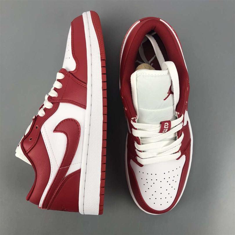 Air Jordan 1 Low GS Gym Red 4