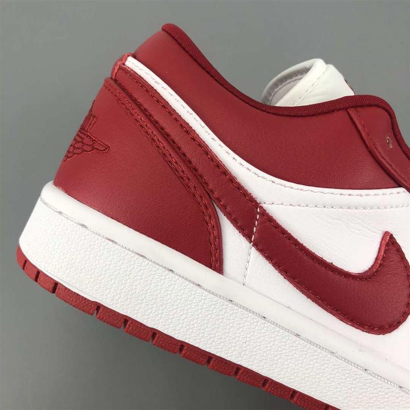 Air Jordan 1 Low GS Gym Red 6