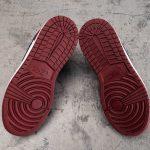 Air Jordan 1 Low GS Noble Red 7