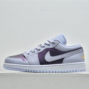 Air Jordan 1 Low GS Oxygen Purple 1