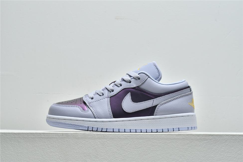 Air Jordan 1 Low GS Oxygen Purple 1
