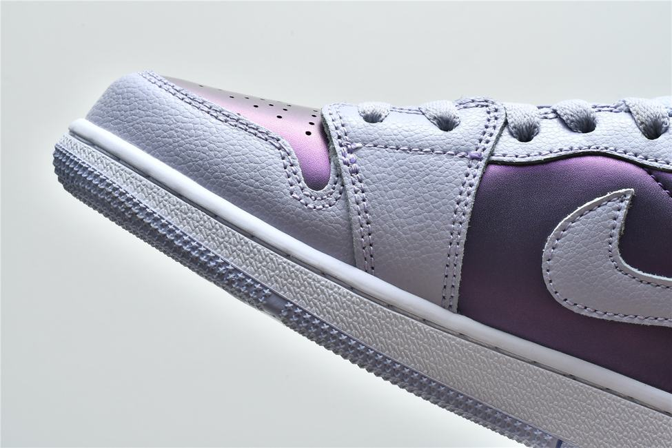 Air Jordan 1 Low GS Oxygen Purple 14