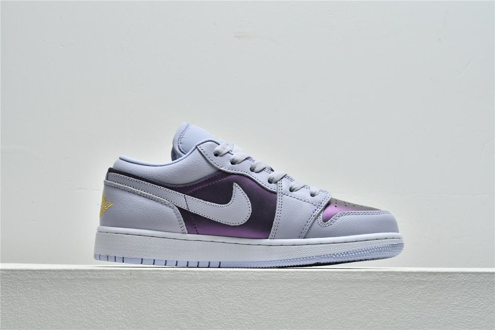 Air Jordan 1 Low GS Oxygen Purple 2