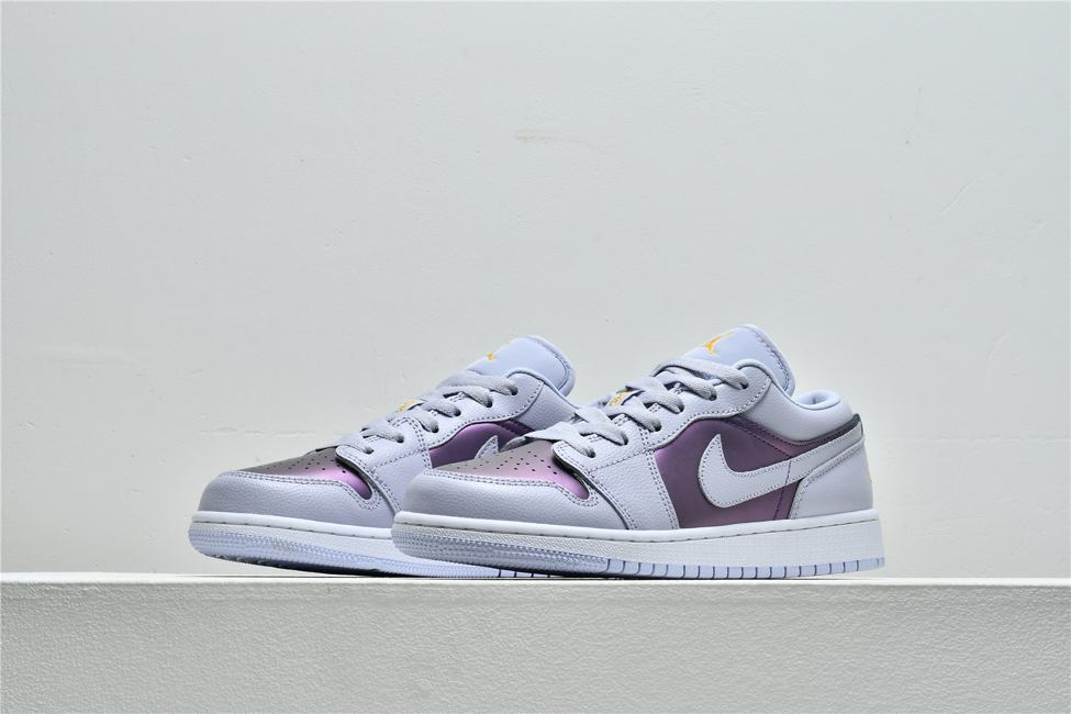 Air Jordan 1 Low GS Oxygen Purple 5