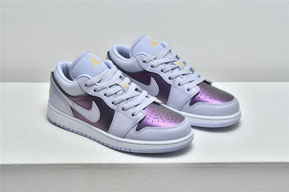 Air Jordan 1 Low GS Oxygen Purple 7