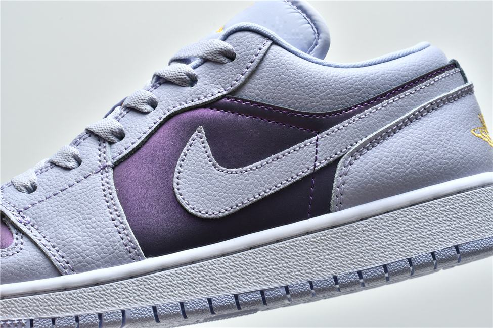 Air Jordan 1 Low GS Oxygen Purple 9