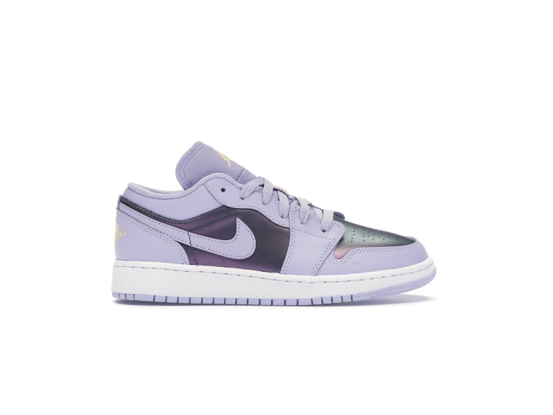 Air Jordan 1 Low GS Oxygen Purple
