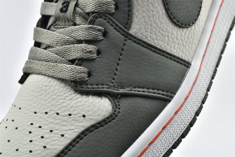 Air Jordan 1 Low Military Green 10