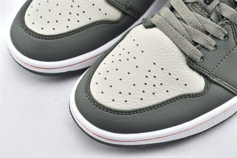 Air Jordan 1 Low Military Green 3