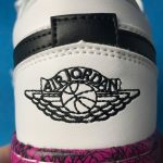 Air Jordan 1 Low Multi Color Midsoles White GS 9
