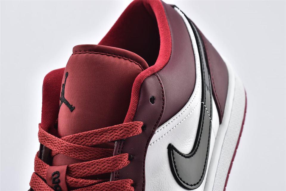 Air Jordan 1 Low Noble Red 11