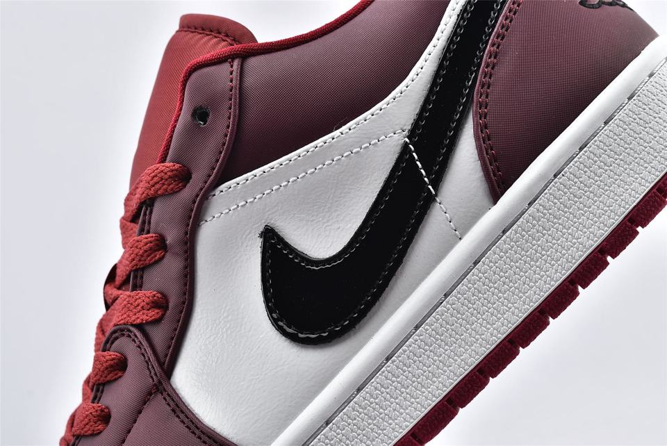 Air Jordan 1 Low Noble Red 12