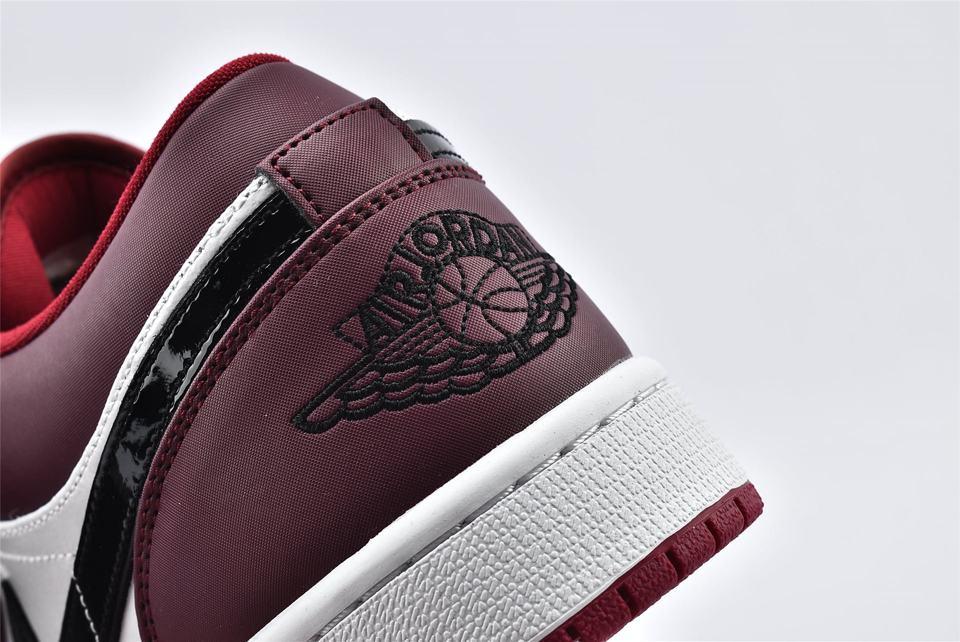 Air Jordan 1 Low Noble Red 13