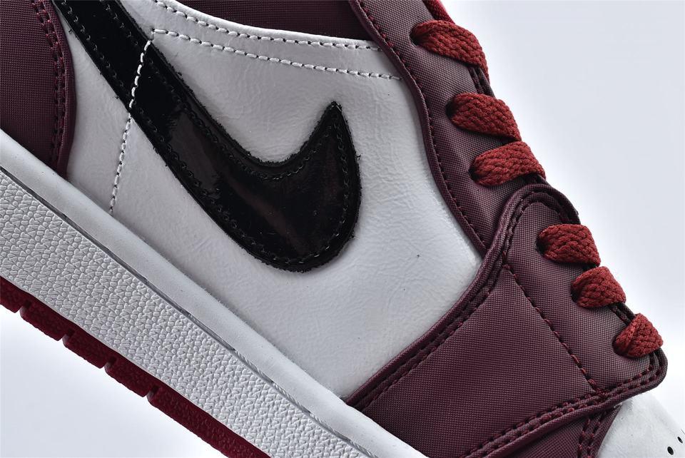 Air Jordan 1 Low Noble Red 14