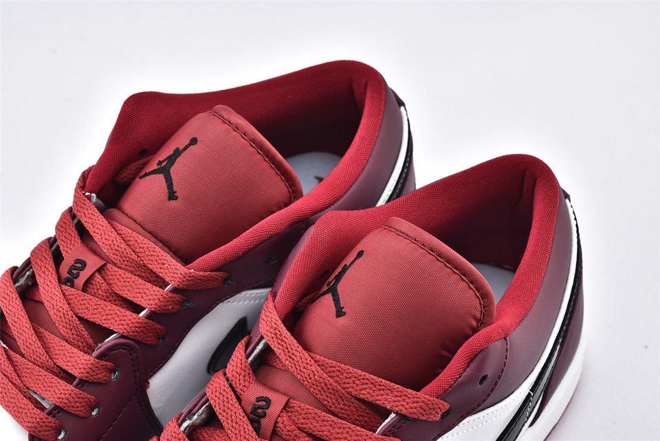Air Jordan 1 Low Noble Red 4