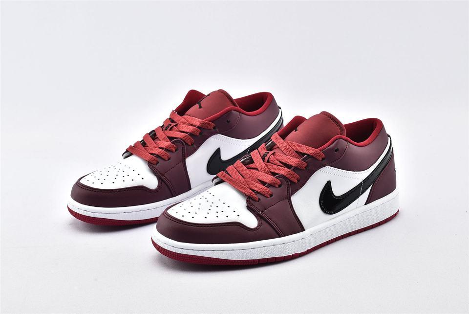 Air Jordan 1 Low Noble Red 5