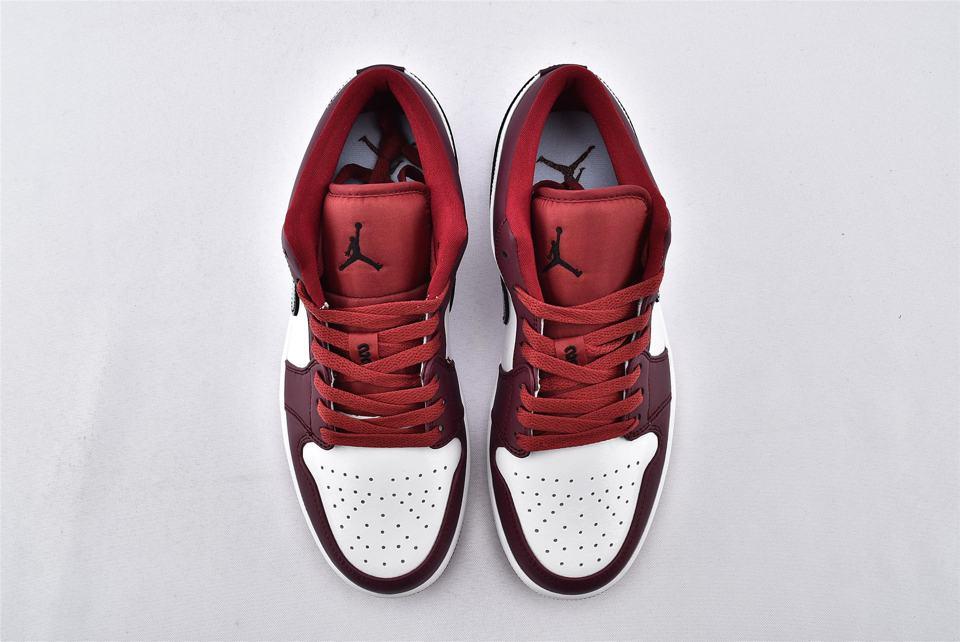 Air Jordan 1 Low Noble Red 6