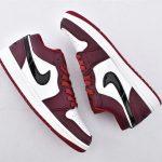 Air Jordan 1 Low Noble Red 7