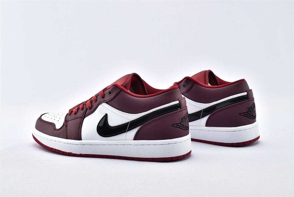 Air Jordan 1 Low Noble Red 9