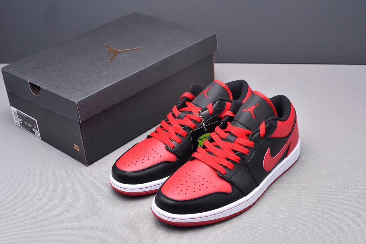 Air Jordan 1 Phat Low Bred 4