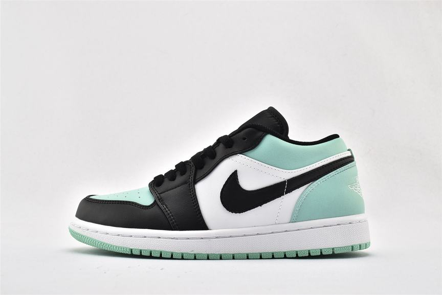 Air Jordan 1 Retro Low Emerald 1