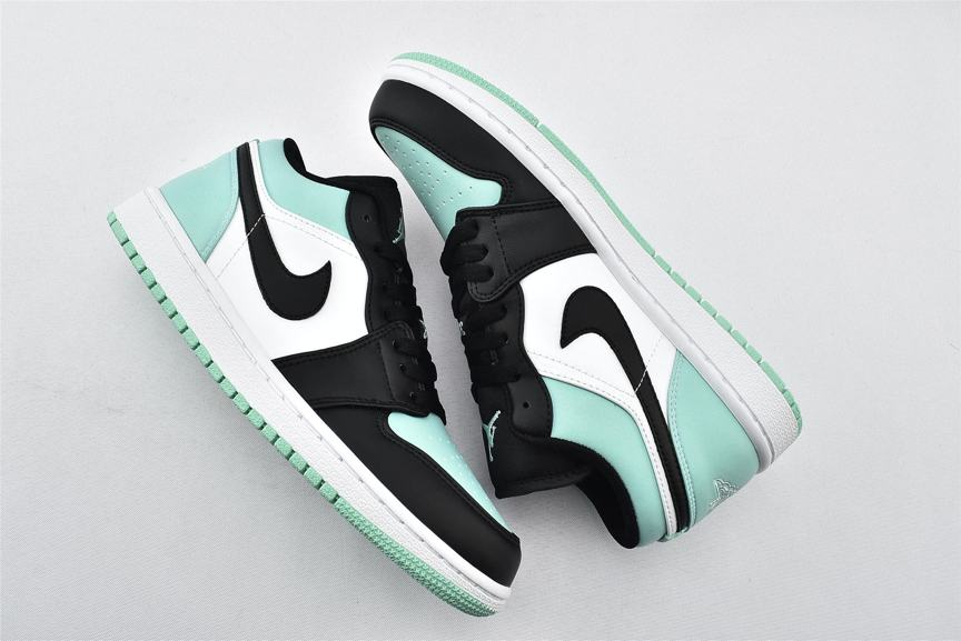 Air Jordan 1 Retro Low Emerald 7