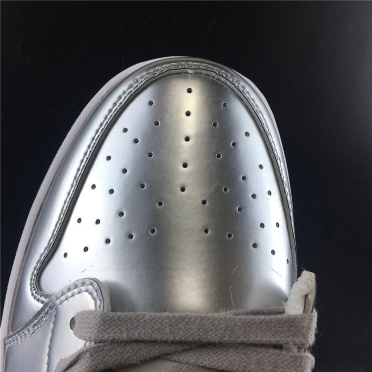 Air Jordan 1 Retro Low OG Pinnacle Metallic Silver 8