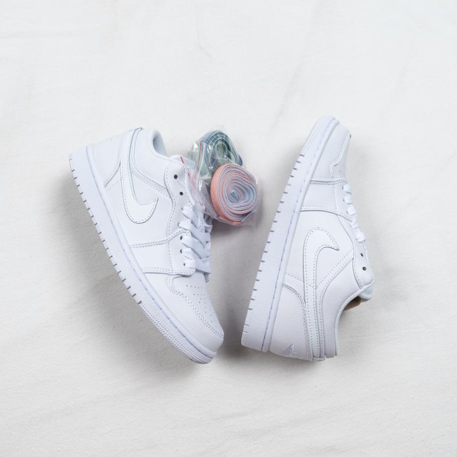 Air Jordan 1 Retro Low Pure Platinum 2