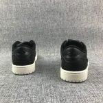 Air Jordan 1 Retro Low Swooshless Black 3
