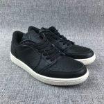 Air Jordan 1 Retro Low Swooshless Black 4