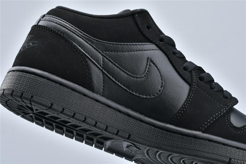 Air Jordan 1 Retro Low Triple Black 13