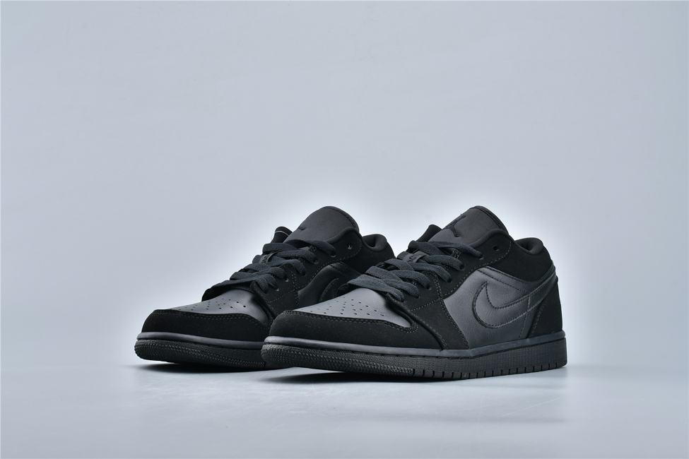 Air Jordan 1 Retro Low Triple Black 3