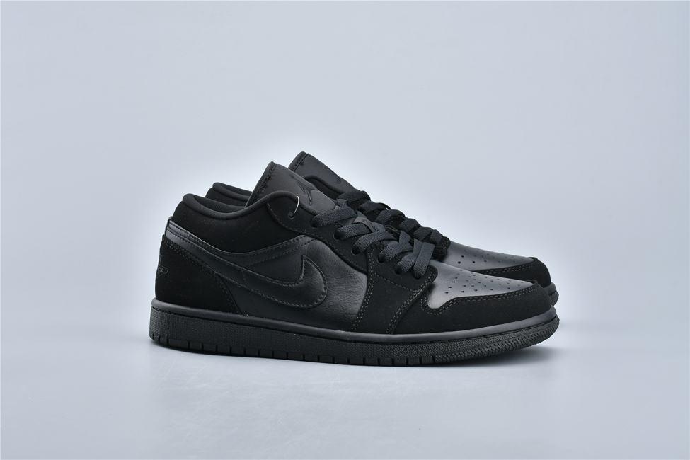 Air Jordan 1 Retro Low Triple Black 7