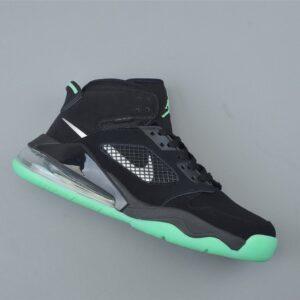 Air Jordan Mars 270 Black Green Glow 1