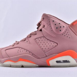 Aleali May x Wmns Air Jordan 6 Retro Millennial Pink 1