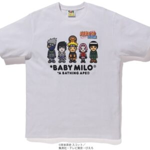 BAPE x Naruto Milo 3 Tee White