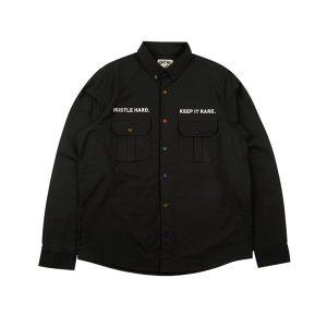 GRAF HustleHard Rare Black Shirt