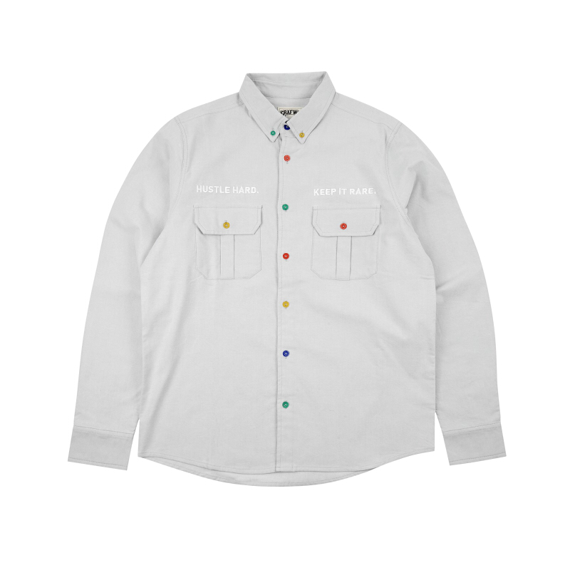 GRAF HustleHard Rare Grey Shirt