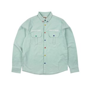 GRAF HustleHard Rare Light Green Shirt