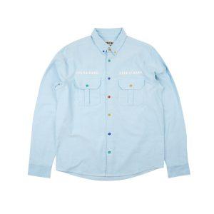 GRAF HustleHard Rare Ligte Blue Shirt