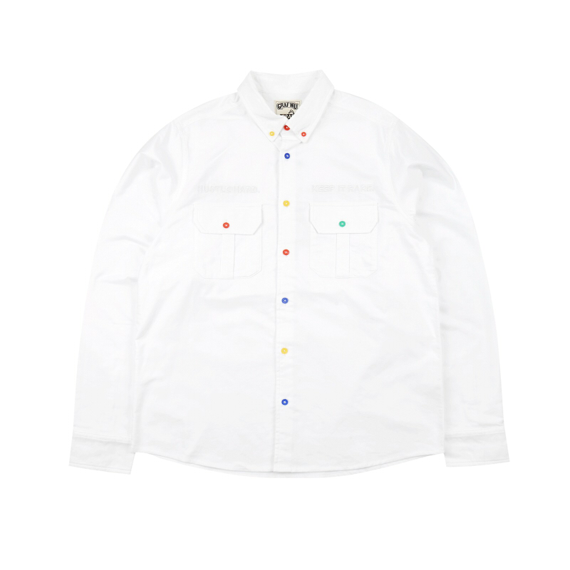GRAF HustleHard Rare White Shirt