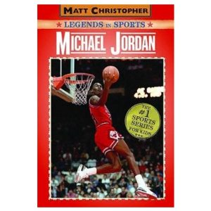 Kniga Matt Christopher Legends in Sports Michael Jordan