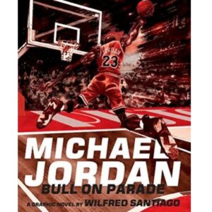 Kniga Michael Jordan Bull on Parade